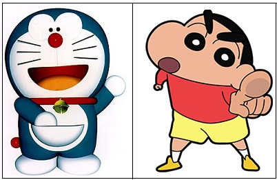 NewsBits : Legal notice to Centre to ban Doraemon-Shinchan ...